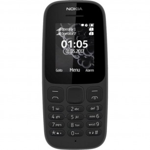 NOKIA 105 DS NEW BLACK